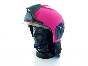 Leichter, sicherer und besonders flexibel in den Ausstattungsmöglichkeiten ist der Hightech-Feuerwehrhelm von Dräger. (Bildquelle: Dräger Safety)