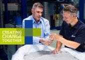 Das Bonner Unternehmen stellt Lösungen für die nachhaltige Produktion im Extrusionsbereich vor. (Bildquelle: Kautex)