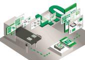 Grafik zum Spritzgießprojekt aus dem Leitthema Kunststoffindustrie 4.0 (Bildquelle: IKV)