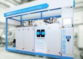 Die neue Elastomer-Hochdruck-Dosiermaschine sorgt für eine material- und spülverlustfreie Produktion. (Bildquelle:  Hennecke)