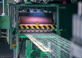Mit einer High-Speed-Aufrüstung lässt sich die Produktionsgeschwindigkeit bestehender Pultrusionsanlagen zur Fertigung hochwertiger langfaserverstärkter Thermoplast-Pellets unkompliziert erhöhen. (Bildquelle: Protec)