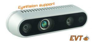 Mit dem Sensor lassen sich viele industriellen Anwendungen im Bereich 3D und Robot Vision lösen. (Bildquelle: EVT)