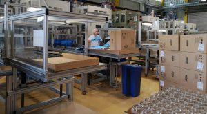 Greiner Packaging entwickelt und produziert im Werk Wartberg Verpackungen mit dem Spritz-Streck-Blasverfahren im Ein-Stufen-Prozess. (Bildquelle: Ralf Mayer/Redaktion Plastverarbeiter)