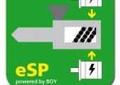 Die optionalen Servo-Plast-Einheiten können ab dem Jahreswechsel als ESP-Option geordert werden. Gekennzeichnet werden diese Maschinentypen dann mit dem Namenszusatz Hybrid. (Bildquelle: Boy)