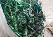 Zähes Material: PP-Umreifungsbänder (Bildquelle: Untha)