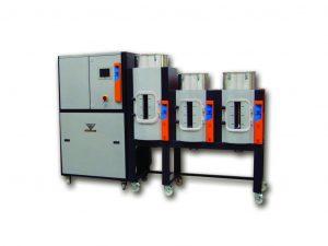 Zum weiterführenden Einsatz in der Industrieautomation sorgen die neuen Trockner mit dem offenen Schnittstellenstandard OPC-UA für die Möglichkeit zu einem herstellerunabhängigen Austausch von Daten zwischen Produktionsmaschinen und Peripherie. (Bildquelle: Koch-Technik)
