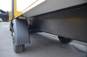 Das Chassisteil aus Verbundwerkstoff kann kontinuierlich mithilfe des Pultrusionsverfahrens aus einem Polyurethan-Matrixsystem  hergestellt werden. (Bildquelle: Carbon TT/Covestro)
