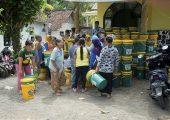 Die indonesische Bevölkerung wird an die Abfallsammlung herangeführt, um die Entsorgung in der Umwelt ein Ende zu bereiten. (Bildquelle: Borealis)