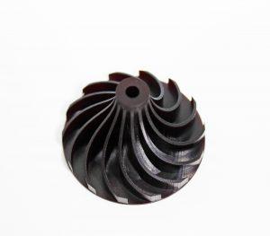Das Hochtemperaturmaterial Thermo Blast hält Umgebungsbedingungen von bis zu 300 °C stand und eignet sich damit für extreme Bedingungen. (Bildquelle: Cubicure)