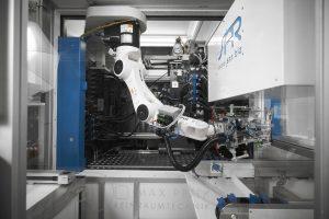 Die Hand des Roboters ist für verschiedene Handhabungsaufgaben ausgelegt. (Bildquelle: SAR Group)