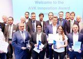 Die Preisträger der vom AVK verliehenen Innovationspreise 2019. (Bildquelle: AVK)