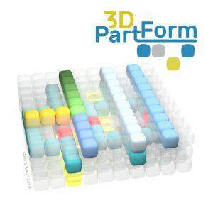 Konzept 3D-Part-Form schematisch dargestellt. (Bildquelle: IPF/Julian Thiele, Simon Konze)