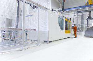 Blick in die Produktionshalle des Kunststoff- und Spritzgusstechnikunternehmens Wiesmayer. (Bildquelle: Wiesmayer)