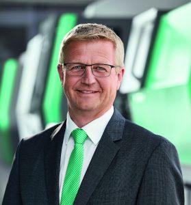 Gerhard Böhm, ARBURG Geschäftsführer Vertrieb (ARBURG Managing Director Sales)
