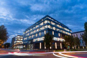 Das Technologie- und Servicezentrum in Gärtringen bei Stuttgart wird erweitert. (Bildquelle: Trelleborg)