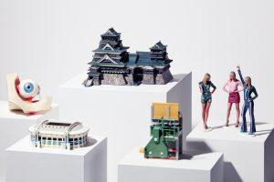 Detailgetreue Figuren und Modelle können in den gewünschten Farben gedruckt werden. (Bildquelle: Mimaki)
