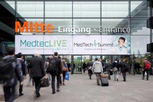 Eines der Topthemen auf der Medtec Live 2020  ist die Digitalisierung. (Bildquelle: Nürnberg Messe)