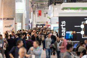 Hoher Besucherandrang am ersten Tag der Formnext 2019 (Bildquelle: Mesago Messe Frankfurt)