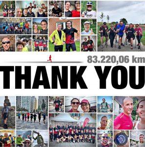 Spendenlauf: Mehr als 83.000 km legten Kunden und Mitarbeiter des Unternehmens zurück und generierten damit 40.000 EUR für soziale Zwecke. (Bildquelle: Zwick Roell)