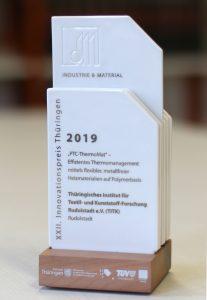 Der Preis für das TITK Rudolstadt ist mit 20.000 EUR dotiert. (Bildquelle: TITK / Steffen Beikirch)