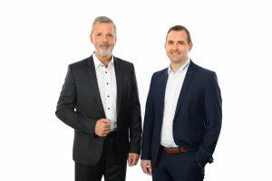 Werner Berens (li.) und Michael Lambert stellen Kundenbetreuung in den Fokus ihrer Aktivitäten. (Bildquelle: Vecoplan AG))