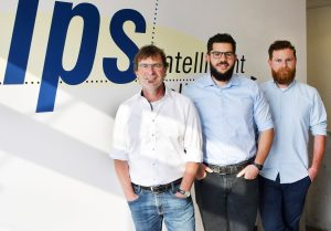 Die erweiterte Geschäftsleitung von ips: Gerald Weis, Simon Weis und Julian Weis (von links nach rechts) (Bildquelle: IPS Intelligent Pelletizing Solutions )