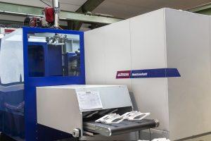 Fertigung Gehäuseteil für Getränkeautomat mit einer Smart Power 300/1330 mit Insiderzelle. (Bildquelle: Wittmann Battenfeld)