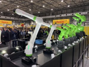 Der Leichtbau-Roboter ist ideal geeignet für Anwender, die erstmals Roboter in ihrer Produktion verwenden möchten. (Bildquelle: Fanuc)