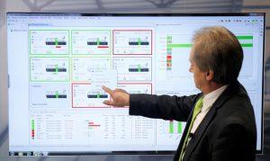 MES-Systeme geben jederzeit einen Überblick über sämtliche Maschinenzustände in Produktionsanlagen. (Bildquelle: Keba)