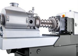Der schonende und dennoch stringente Druckaufbau in der zweiwelligen, konischen Austragseinheit trägt maßgeblich zur hohen Prozesskonstanz und gleichmäßigen Produktqualität bei. (Bildquelle: Buss)