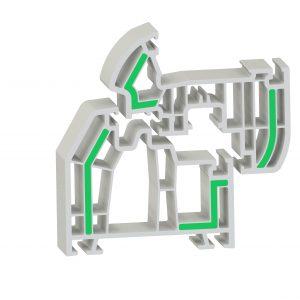 Mit der neuen Type lassen sich PVC-Fensterprofile im Coextrusionsverfahren mechanisch aussteifen. (Bildquelle: BASF)