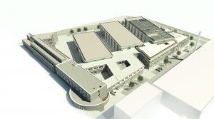 Das IKV Aachen baut eine Smart Factory, die bis 2022 fertig gestellt sein soll. (Bildquelle: IKV)