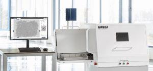Das röntgenbasierte Offline-Inspektions- und -Analysesystem erkennt metallische Verunreinigungen in Kunststoffgranulaten. (bildquelle: Sikora)