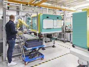 Blick ins Technikum bei Sartorius in Helsinki (Bildquelle: Kistler)