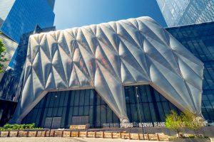 The Shed - eine mobile Veranstaltungshalle in New York mit einer Fassade aus Folienkissen. (Bildquelle: 3M/Shutterstock)