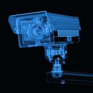 Transparentes Volumenmodell der Überwachungskamera. (Bildquelle: phonamaiphoto - stock.adobe.com)