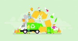 Kunststoffabfälle chemisch recyceln, das ist das Ziel der geplanten Zusammenarbeit der drei Unternehmen. (Bild: Alexacrib - stock.adobe.com)