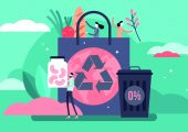 Effizienter Einsatz von Ressourcen: Fokus der Verpackung ist die Sicherheit und der Schutz des Packgutes. (Bildquelle: VectorMine - stock.adobe.com)
