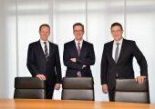 Mitglieder des Vorstands von Technotrans: v.l.n.r. Peter Hirsch, Dirk Engel Sprecher) und Hendirk Niestert (Bildquelle: Technotrans)