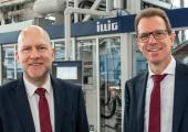 Dr. Heinrich Sielemann (l.) und Carsten Strenger leiten Illig Maschinenbau künftig als Doppelspitze. (Bildquelle: Illig)
