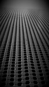 Schwarze Wabenkerne für den Einsatz im Hyundai Creta. (Bildquelle: Thermhex)