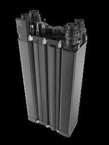 Neu entwickelter Brennstoffzellentank des Unternehmens. (Bildquelle: Elring Klinger)