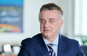 Christian Kullmann, Vostandsvorsitzender Evonik Industries, ist neuer Präsidendt des VCI. (Bildquelle: Evonik Industries)