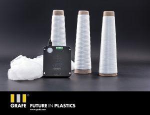 Die Marker-Masterbatches können universell in alle Polymere eingearbeitet werden und eignen sich auch für Faseranwendungen. (Bildquelle: Grafe)
