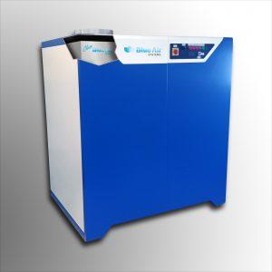 Das Entfeuchtungsgerät erzeugt direkt eine keim- und virenfreie Atmosphäre während der Werkzeugentfeuchtung. (Bildquelle: Blue Air Systems)