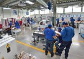 Die Ausbildungszentren verfügen über einen Maschinenpark auf aktuellem Stand der Technik. (Bildquelle: Alpla)