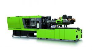 Die Spritzgießmaschine stellt bei extrem kurzen Zykluszeiten von unter zwei Sekunden eine sehr hohe Präzision und Wiederholgenauigkeit sicher. 8Bildquelle: Engel)
