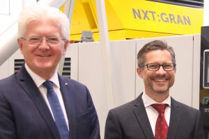 Josef Hochreiter (links) mit seinem Nachfolger Wolfgang Steinwender (Bildquelle: NGR)