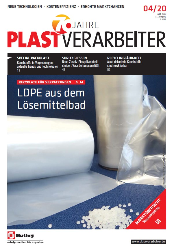 Plastverarbeiter Cover April 2020