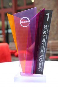 """Der Gewinner des Innovation Award """"Best Co2 Utilisation 2020"""" steht fest. (Bildquelle: Covestro)"""